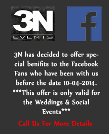 Special 3n offers for facebook fans